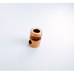 Zubatice posuvu filamentu mosazná - CNC